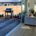 Level entry onto the deck is great for socialising