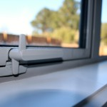 Lever handles are best on windows too