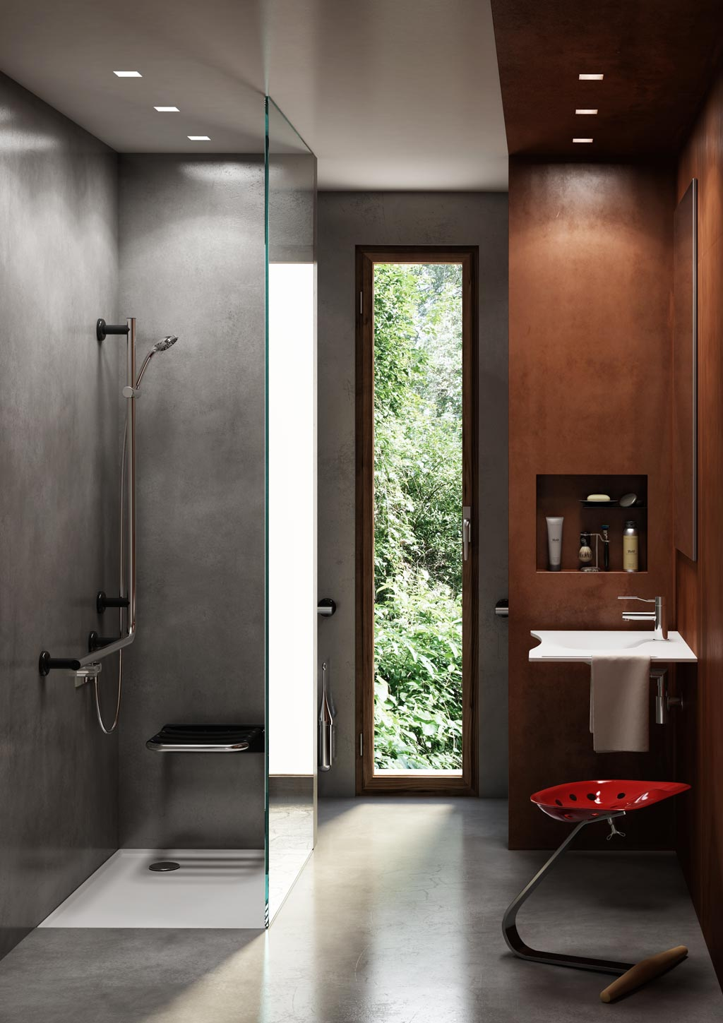 Accessible Bathrooms by Goman  Lifemark